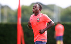 SOUTHAMPTON, ENGLAND - AUGUST 18: Michael Obafemi during a Southampton FC training session at the Staplewood Campus on August 18, 2020 in Southampton, England. (Photo by Matt Watson/Southampton FC via Getty Images)