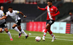 SOUTHAMPTON, ENGLAND - AUGUST 29: Sofiane Boufal during a pre-season friendly between Southampton FC and Swansea City at St Marys Stadium, on August 29, 2020 in Southampton, England. (Photo by Matt Watson/Southampton FC via Getty Images)