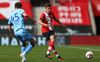 SOUTHAMPTON, ENGLAND - SEPTEMBER 1: James Morris of Southampton (R) during a pre-season friendly match between Southampton U23 and Coventry City at St Mary's Stadium on September 1, 2020 in Southampton, United Kingdom. (Photo by Isabelle Field/Southampton FC)