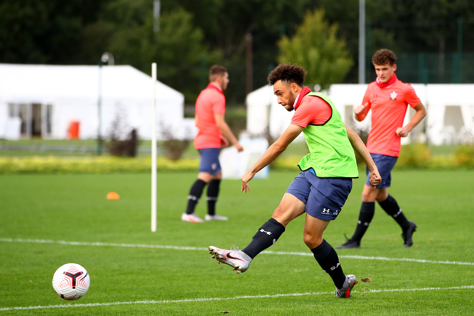 SOUTHAMPTON, ENGLAND - SEPTEMBER 04:  during a Southampton FC U18 training session at the Staplewood Campus on September 04, 2020 in Southampton, England. (Photo by Isabelle Field/Southampton FC)