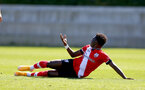 SOUTHAMPTON, ENGLAND - SEPTEMBER 05: Kazeem Olaigbe during a Southampton FC U23 pre season friendly against Working FC at Staplewood Campus on September 05, 2020 in Southampton, England. (Photo by Isabelle Field/Southampton FC)