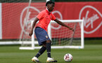 LONDON, ENGLAND - SEPTEMBER 15: Kgaogelo Chauke during B Team training session Staplewood Training Ground on September 15, 2020 in Southampton, United Kingdom. (Photo by Isabelle Field/Southampton FC via Getty Images)