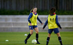 LONDON, ENGLAND - SEPTEMBER 10: during women's training session Staplewood Training Ground on September 10, 2020 in Southampton, United Kingdom. (Photo by Isabelle Field/Southampton FC via Getty Images)