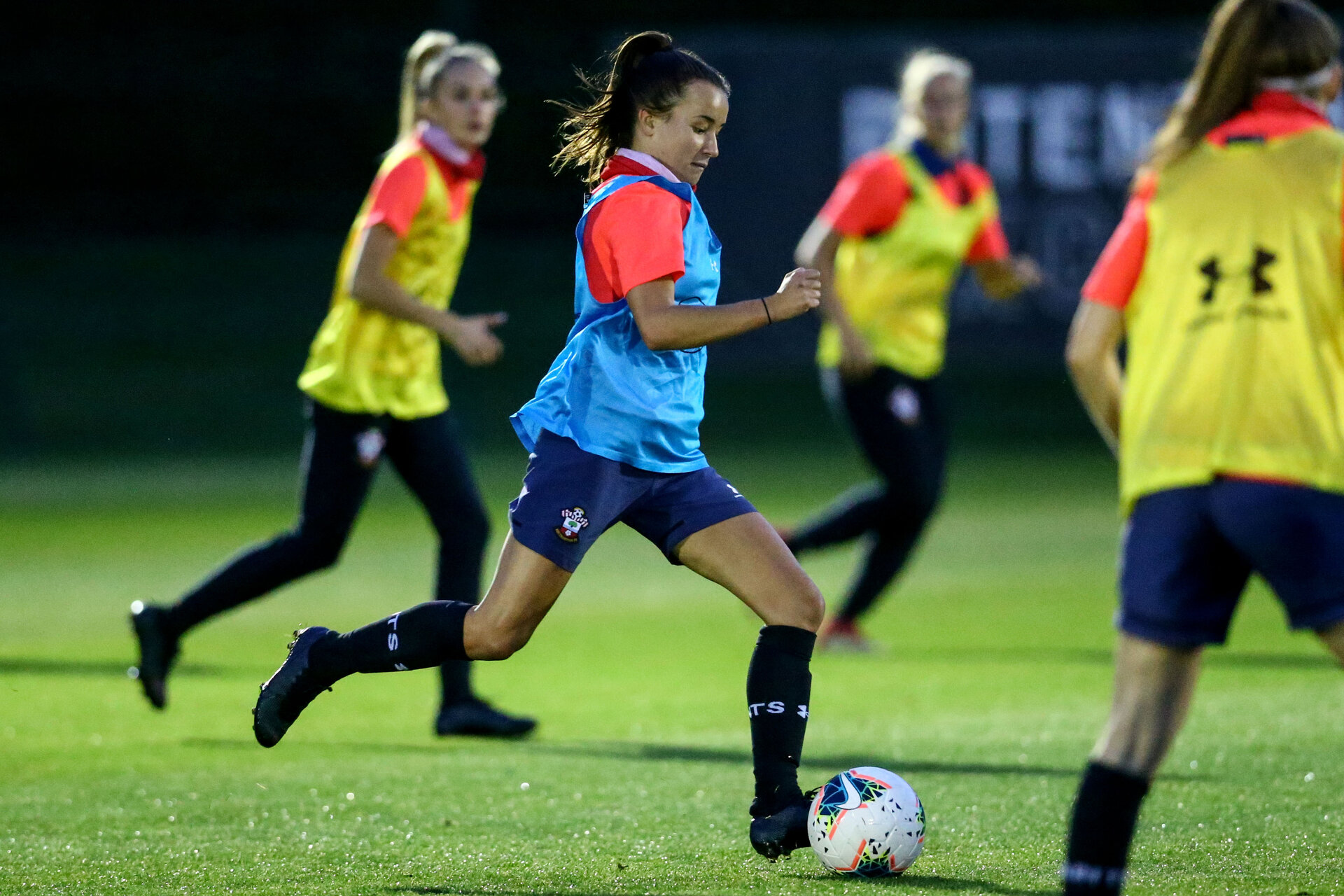LONDON, ENGLAND - SEPTEMBER 10: Sophia Pharoah during women's training session Staplewood Training Ground on September 10, 2020 in Southampton, United Kingdom. (Photo by Isabelle Field/Southampton FC via Getty Images)