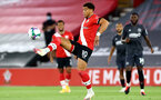 SOUTHAMPTON, ENGLAND - SEPTEMBER 16: Ché Adams of Southampton during the second round of the Carabao Cup match between Southampton FC and Brentford FC at St. Mary's Stadium on September 16, 2020 in Southampton, England. (Photo by Matt Watson/Southampton FC via Getty Images)