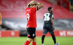 SOUTHAMPTON, ENGLAND - SEPTEMBER 16: Danny Ings of Southampton during the second round of the Carabao Cup match between Southampton FC and Brentford FC at St. Mary's Stadium on September 16, 2020 in Southampton, England. (Photo by Matt Watson/Southampton FC via Getty Images)