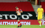 SOUTHAMPTON, ENGLAND - SEPTEMBER 16: James Ward-Prowse of Southampton during the second round of the Carabao Cup match between Southampton FC and Brentford FC at St. Mary's Stadium on September 16, 2020 in Southampton, England. (Photo by Chris Moorhouse/Southampton FC via Getty Images)