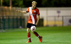 SOUTHAMPTON, ENGLAND - SEPTEMBER 18: Josh Sims of Southampton during the Premier League 2 match between Southampton FC B Team and Chelsea FC at Snows Stadium on September 18, 2020 in Southampton, England. (Photo by Isabelle Field/Southampton FC via Getty Images)