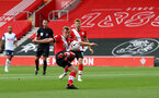 SOUTHAMPTON, ENGLAND - SEPTEMBER 20: James Ward-Prowse of Southampton during the Premier League match between Southampton and Tottenham Hotspur at St Mary's Stadium on September 20, 2020 in Southampton, United Kingdom. (Photo by Matt Watson/Southampton FC via Getty Images)