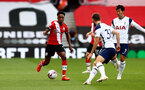 SOUTHAMPTON, ENGLAND - SEPTEMBER 20: Kyle Walker-Peters of Southampton during the Premier League match between Southampton and Tottenham Hotspur at St Mary's Stadium on September 20, 2020 in Southampton, United Kingdom. (Photo by Matt Watson/Southampton FC via Getty Images)