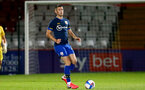 STEVENAGE, ENGLAND - SEPTEMBER 22: Tom O'Connor of Southampton during the EFL Trophy match between Stevenage FC and Southampton FC B Team  at the Lamex Stadium on September 22, 2020 in Stevenage, England. (Photo by Isabelle Field/Southampton FC via Getty Images)