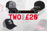 Great savings on Saints caps