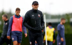 SOUTHAMPTON, ENGLAND - SEPTEMBER 23: Ralph Hasenhüttl during a Southampton FC training session at the Staplewood Campus on September 23, 2020 in Southampton, England. (Photo by Matt Watson/Southampton FC via Getty Images)