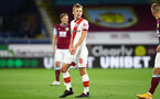 BURNLEY, ENGLAND - SEPTEMBER 26: James Ward-Prowse of Southampton during the Premier League match between Burnley and Southampton at Turf Moor on September 26, 2020 in Burnley, United Kingdom. Sporting stadiums around the UK remain under strict restrictions due to the Coronavirus Pandemic as Government social distancing laws prohibit fans inside venues resulting in games being played behind closed doors. (Photo by Matt Watson/Southampton FC via Getty Images)