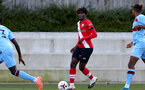 SOUTHAMPTON, ENGLAND - SEPTEMBER 26: Alex Janekewitz of Southampton during Premier League 2 Match between Southampton B Team and West Ham United at Staplewood Training Ground on September 26, 2020 in Southampton, England. (Photo by Isabelle Field/Southampton FC via Getty Images)
