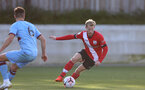 SOUTHAMPTON, ENGLAND - SEPTEMBER 26: Josh Sims of Southampton during Premier League 2 Match between Southampton B Team and West Ham United at Staplewood Training Ground on September 26, 2020 in Southampton, England. (Photo by Isabelle Field/Southampton FC via Getty Images)