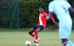 SOUTHAMPTON, ENGLAND - SEPTEMBER 26: Kgaogelo Chauke of Southampton during Premier League 2 Match between Southampton B Team and West Ham United at Staplewood Training Ground on September 26, 2020 in Southampton, England. (Photo by Isabelle Field/Southampton FC via Getty Images)