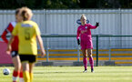 Southampton, ENGLAND - SEPTEMBER 27: Kayla Rendell of Southampton during the FAWNL match between Southampton Women and Buckland Athletic at Snows Stadium on September 27, 2020 in Southampton, United Kingdom (Photo by Isabelle Field/Southampton FC via Getty Images)
