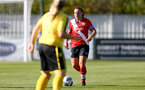 Southampton, ENGLAND - SEPTEMBER 27: Shannon Siewright (R) of Southampton during the FAWNL match between Southampton Women and Buckland Athletic at Snows Stadium on September 27, 2020 in Southampton, United Kingdom (Photo by Isabelle Field/Southampton FC via Getty Images)