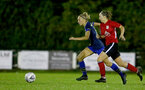 Southampton, ENGLAND - SEPTEMBER 30: Phoebe Williams (L) of Southampton during the FAWNL match between Southampton Womens and Southampton FC Women at Alresford Town on September 30, 2020 in Southampton, United Kingdom (Photo by Isabelle Field/Southampton FC via Getty Images)