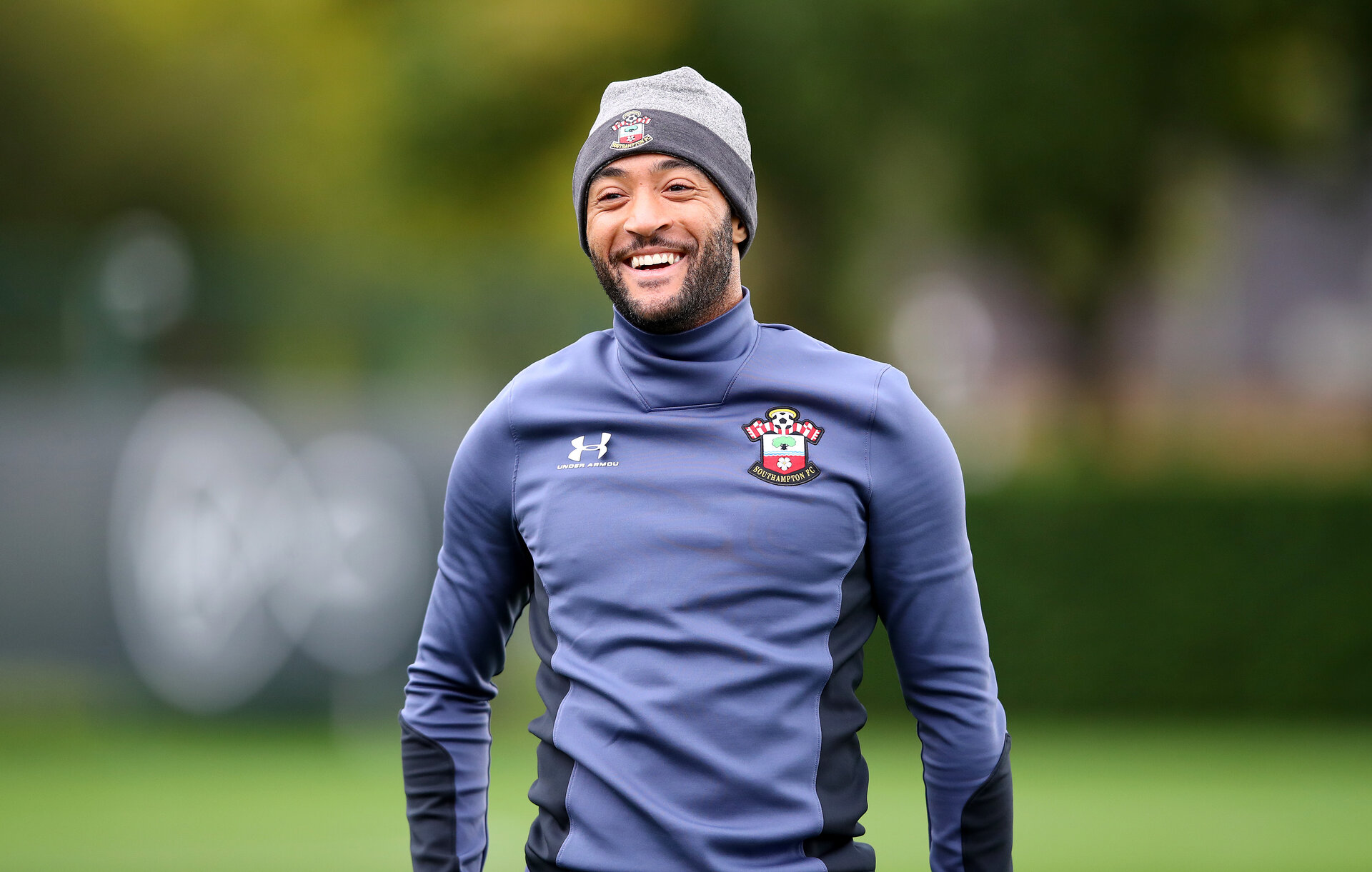 SOUTHAMPTON, ENGLAND - OCTOBER 02: Nathan Redmond during a Southampton FC training session at the Staplewood Campus on October 02, 2020 in Southampton, England. (Photo by Matt Watson/Southampton FC via Getty Images)