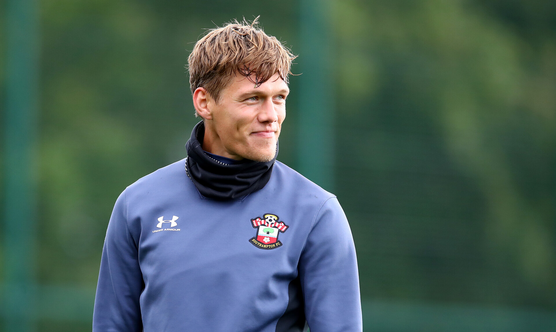 SOUTHAMPTON, ENGLAND - OCTOBER 02: Jannik Vestergaard during a Southampton FC training session at the Staplewood Campus on October 02, 2020 in Southampton, England. (Photo by Matt Watson/Southampton FC via Getty Images)