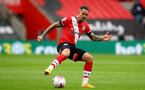SOUTHAMPTON, ENGLAND - OCTOBER 04: Danny Ings of Southampton during the Premier League match between Southampton and West Bromwich Albion at St Mary's Stadium on October 4, 2020 in Southampton, United Kingdom. Sporting stadiums around the UK remain under strict restrictions due to the Coronavirus Pandemic as Government social distancing laws prohibit fans inside venues resulting in games being played behind closed doors. (Photo by Matt Watson/Southampton FC via Getty Images)