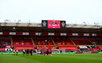 SOUTHAMPTON, ENGLAND - OCTOBER 04: A general view during the Premier League match between Southampton and West Bromwich Albion at St Mary's Stadium on October 04, 2020 in Southampton, United Kingdom. Sporting stadiums around the UK remain under strict restrictions due to the Coronavirus Pandemic as Government social distancing laws prohibit fans inside venues resulting in games being played behind closed doors. (Photo by Matt Watson/Southampton FC via Getty Images)