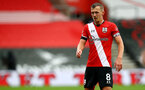 SOUTHAMPTON, ENGLAND - OCTOBER 04: James Ward-Prowse of Southampton during the Premier League match between Southampton and West Bromwich Albion at St Mary's Stadium on October 04, 2020 in Southampton, United Kingdom. Sporting stadiums around the UK remain under strict restrictions due to the Coronavirus Pandemic as Government social distancing laws prohibit fans inside venues resulting in games being played behind closed doors. (Photo by Matt Watson/Southampton FC via Getty Images)