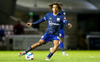 NORTHAMPTON, ENGLAND - OCTOBER 06: Caleb Watts of Southampton during EFL Cup match between Northampton Town FC and Southampton FC B Team at the PTS Academy Stadium on October 6, 2020 in Northampton, England. (Photo by Isabelle Field/Southampton FC via Getty Images)