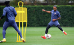 SOUTHAMPTON, ENGLAND - OCTOBER 12: Theo Walcott during a Southampton FC training session at the Staplewood Campus on October 12, 2020 in Southampton, England. (Photo by Matt Watson/Southampton FC via Getty Images)
