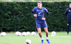 SOUTHAMPTON, ENGLAND - OCTOBER 21: Jan Bednarek during a Southampton FC Training session at the Staplewood Complex on October 21, 2020 in Southampton, England. (Photo by Isabelle Field/Southampton FC via Getty Images)