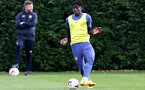 SOUTHAMPTON, ENGLAND - OCTOBER 21: Mohammed Salisu during a Southampton FC Training session at the Staplewood Complex on October 21, 2020 in Southampton, England. (Photo by Isabelle Field/Southampton FC via Getty Images)
