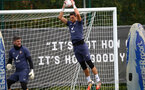 SOUTHAMPTON, ENGLAND - OCTOBER 23: Alex McCarthy during a Southampton FC training session at the Staplewood Campus on October 23, 2020 in Southampton, England. (Photo by Matt Watson/Southampton FC via Getty Images)