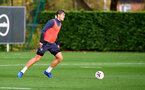 SOUTHAMPTON, ENGLAND - OCTOBER 28: Jannik Vestergaard during a Southampton FC training session at the Staplewood Campus on October 28, 2020 in Southampton, England. (Photo by Matt Watson/Southampton FC via Getty Images)