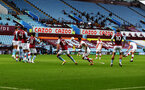 BIRMINGHAM, ENGLAND - NOVEMBER 01: James Ward-Prowse(R) of scores from a free-kick to make it 2-0 during the Premier League match between Aston Villa and Southampton at Villa Park on November 01, 2020 in Birmingham, England. Sporting stadiums around the UK remain under strict restrictions due to the Coronavirus Pandemic as Government social distancing laws prohibit fans inside venues resulting in games being played behind closed doors. (Photo by Matt Watson/Southampton FC via Getty Images)