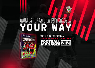 Get the Saints edition of Football Manager 2021