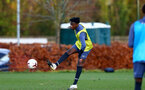 SOUTHAMPTON, ENGLAND - DECEMBER 03 : Kgaogelo Chauke during Southampton U18s training session at Staplewood Complex on December 03, 2020 in Southampton, England. (Photo by Isabelle Field/Southampton FC via Getty Images)