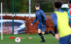 SOUTHAMPTON, ENGLAND - DECEMBER 03 : Lewis Payne during Southampton U18s training session at Staplewood Complex on December 03, 2020 in Southampton, England. (Photo by Isabelle Field/Southampton FC via Getty Images)