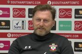 Press conference (part one): Hasenhüttl on Liverpool test
