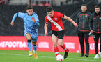 Southampton v Coventry City FA Youth cup at St Mary's Stadium.