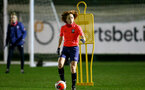 SOUTHAMPTON, ENGLAND - DECEMBER 09 : Molly Mott during Southampton Women's training session at Staplewood Complex on December 09, 2020 in Southampton, England. (Photo by Isabelle Field/Southampton FC via Getty Images)  (Photo by Isabelle Field/Southampton FC via Getty Images)