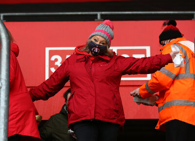 Gallery: Fans return to St Mary's