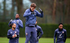SOUTHAMPTON, ENGLAND - DECEMBER 18: Jannik Vestergaard during a Southampton FC training session at the Staplewood Campus on December 18, 2020 in Southampton, England. (Photo by Matt Watson/Southampton FC via Getty Images)