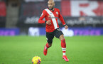 SOUTHAMPTON, ENGLAND - DECEMBER 19: Nathan Redmond of during the Premier League match between Southampton and Manchester City at St Mary's Stadium on December 19, 2020 in Southampton, England. A limited number of fans (2000) are welcomed back to stadiums to watch elite football across England. This was following easing of restrictions on spectators in tiers one and two areas only. (Photo by Matt Watson/Southampton FC via Getty Images)