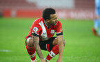 SOUTHAMPTON, ENGLAND - DECEMBER 29: Ryan Bertrand of Southampton during the Premier League match between Southampton and West Ham United at St Mary's Stadium on December 29, 2020 in Southampton, England. The match will be played without fans, behind closed doors as a Covid-19 precaution. (Photo by Matt Watson/Southampton FC via Getty Images)