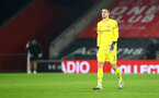 SOUTHAMPTON, ENGLAND - DECEMBER 29: Alex McCarthy of during the Premier League match between Southampton and West Ham United at St Mary's Stadium on December 29, 2020 in Southampton, England. (Photo by Matt Watson/Southampton FC via Getty Images)