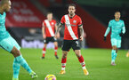 SOUTHAMPTON, ENGLAND - JANUARY 04: Danny Ings of Southampton during the Premier League match between Southampton and Liverpool at St Mary's Stadium on January 04, 2021 in Southampton, England. (Photo by Matt Watson/Southampton FC via Getty Images)