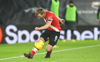 SOUTHAMPTON, ENGLAND - JANUARY 04: James Ward-Prowse of Southampton during the Premier League match between Southampton and Liverpool at St Mary's Stadium on January 04, 2021 in Southampton, England. (Photo by Matt Watson/Southampton FC via Getty Images)