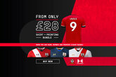 Get a shirt with printing from just £28
